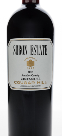 2015 Cougar Hill <br> Zinfandel
