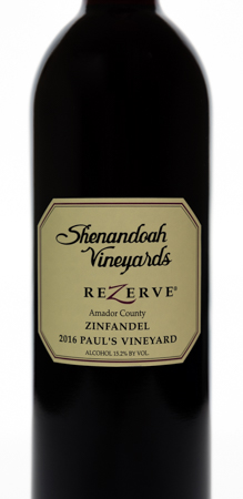 2016 ReZerve® Paul's Vineyard <br> Zinfandel