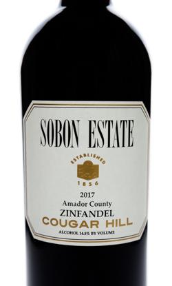 2017 Zinfandel <br> Cougar Hill