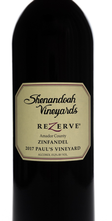 2017 ReZerve® Paul's Vineyard <br> Zinfandel